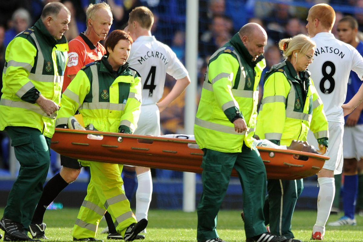 Rodallega's injury isn't as bad as initially feared