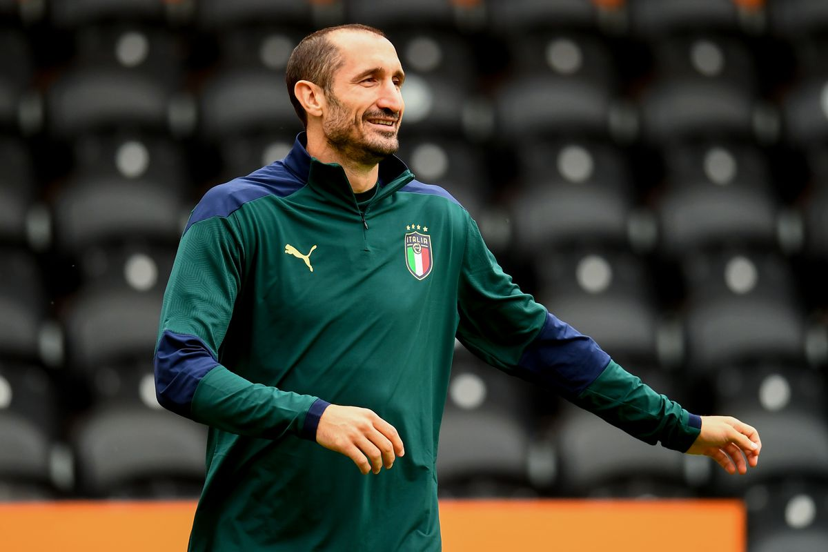 Italy Training Session and Press Conference - UEFA Euro 2020: Semi-final
