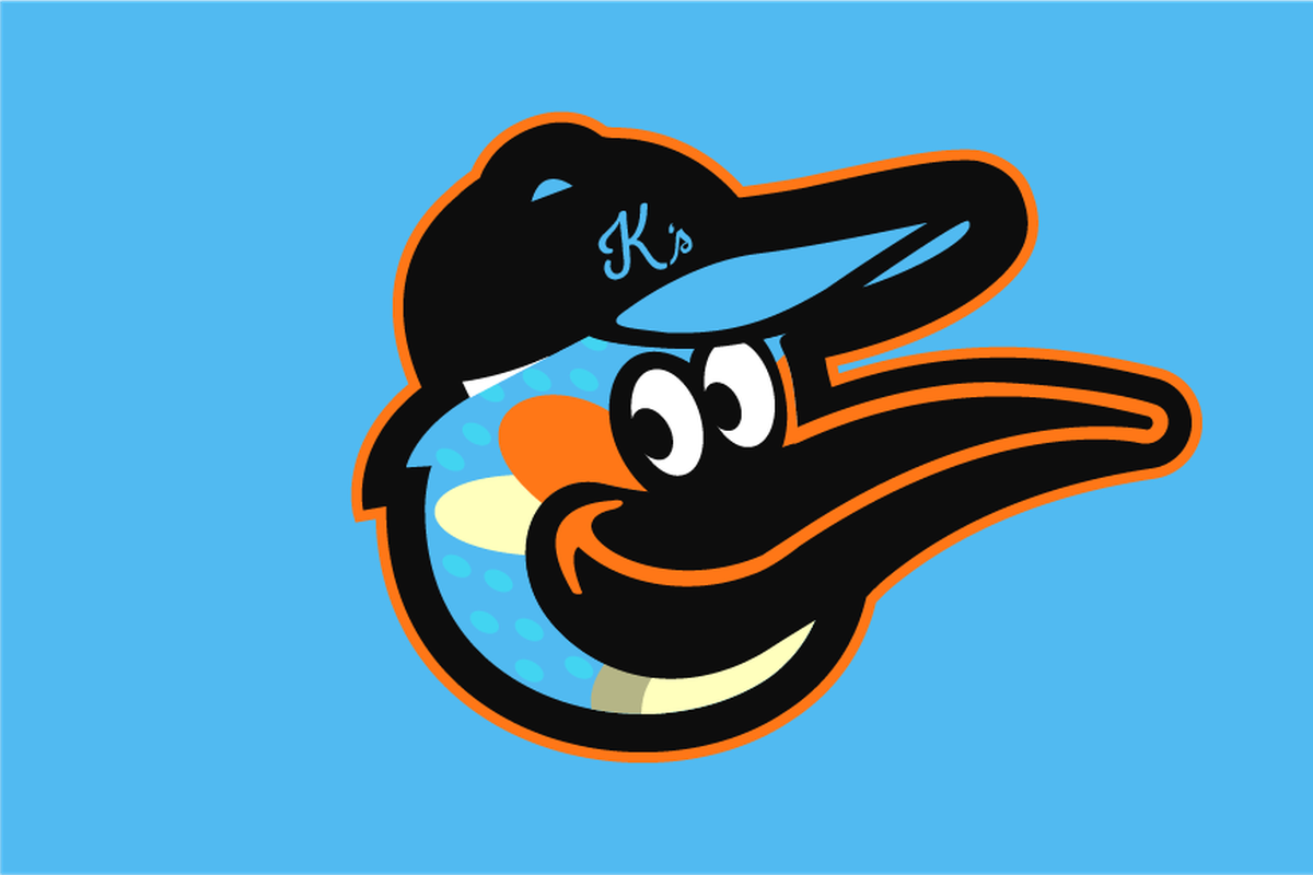 2573c580304 The Baltimore Orioles logo is a relatively simple design. It s a two-toned  oriole