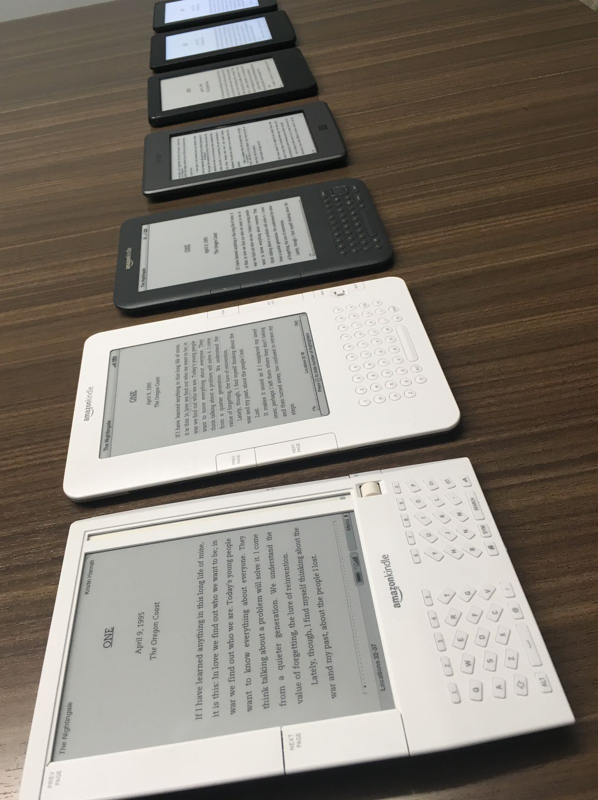 Battery life has been a strong suit of the Kindle since the first model arrived in 2007.