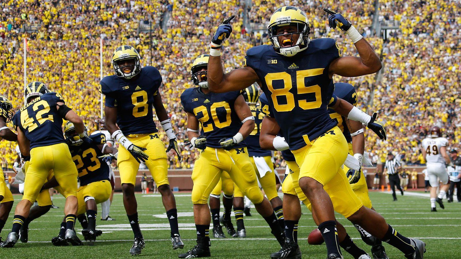 Central Michigan Vs Michigan Final Score Wolverines