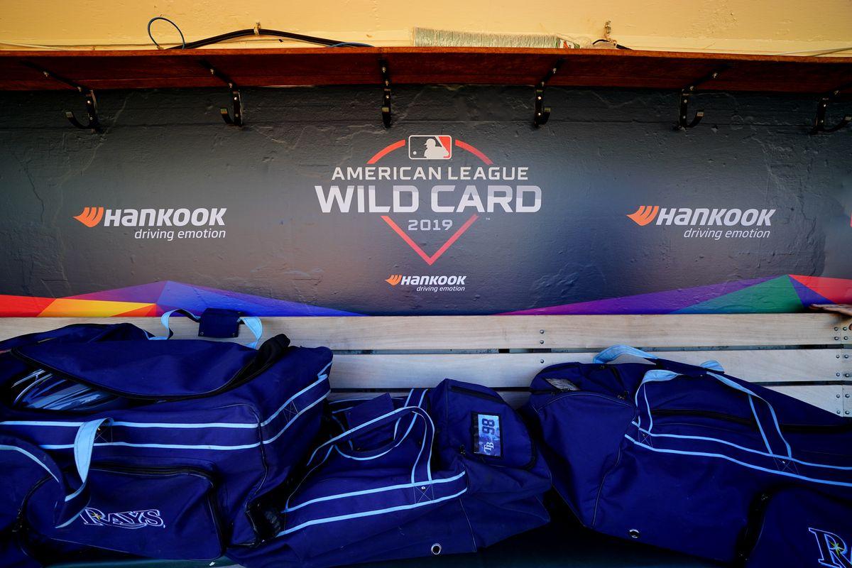 2019 AL Wild Card - Tampa Bay Rays v. Oakland Athletics