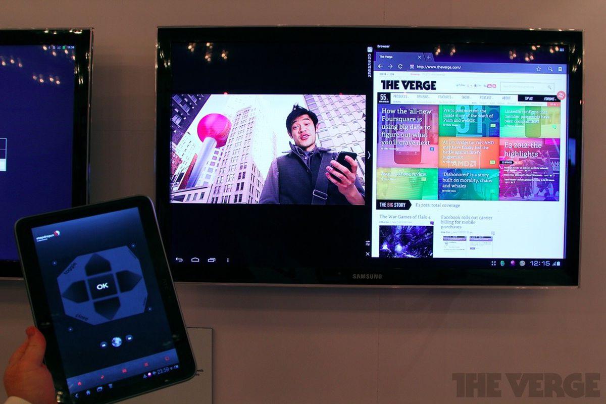 quad-core snapdragon s4 qualcomm smart tv