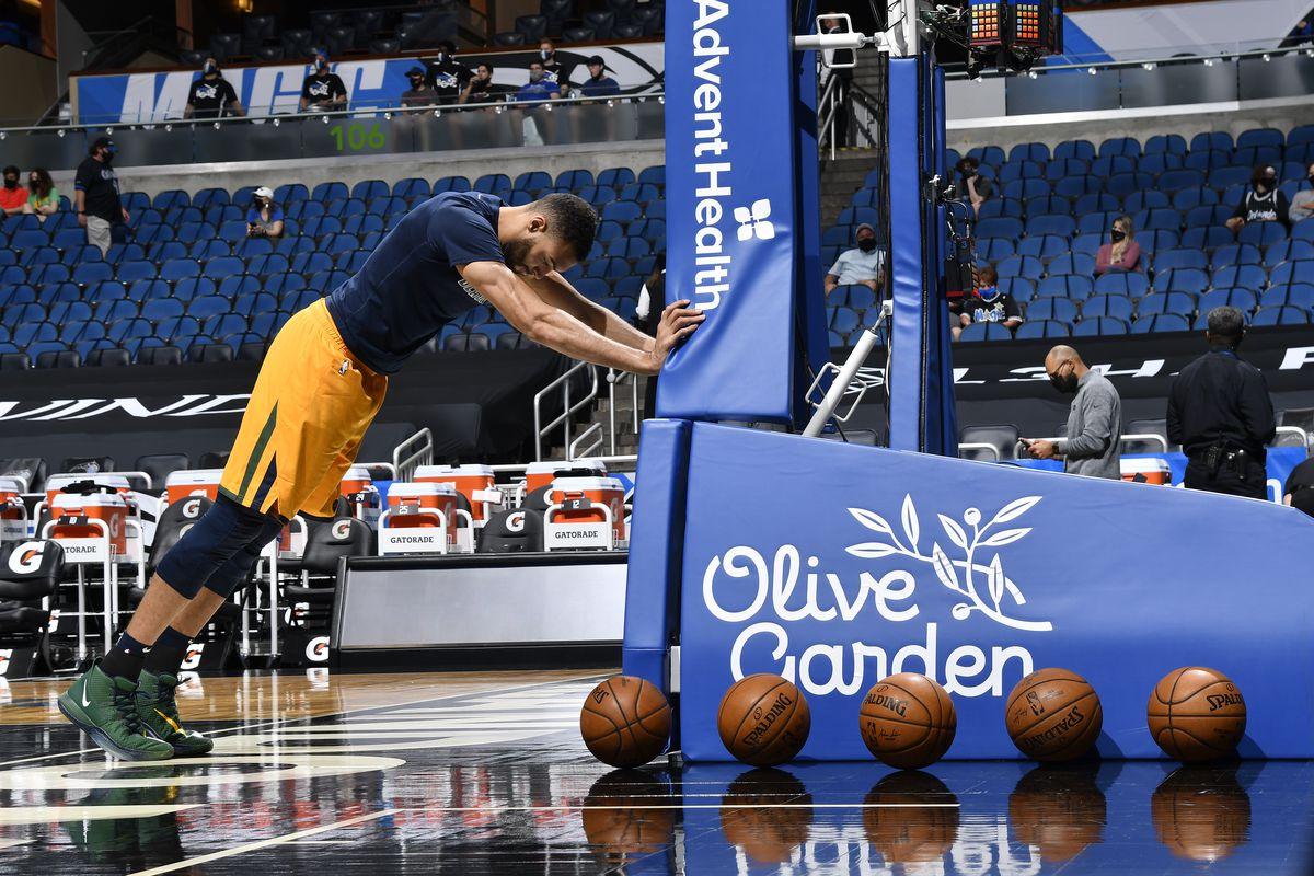 Utah Jazz v Orlando Magic