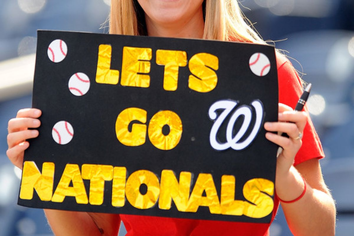 This is the best picture of the Nationals I could find, for obvious reasons.