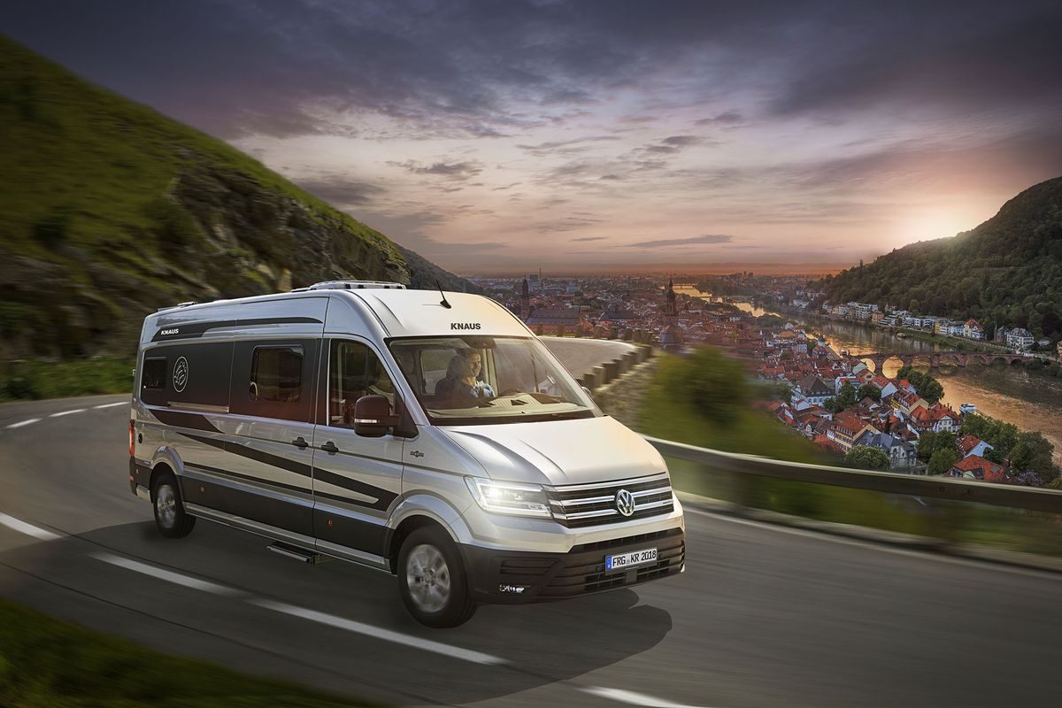 The New Boxdrive From Germany Based Knaus Is Marketed As A Caravanning Utility Vehicle All Photos Courtesy Of