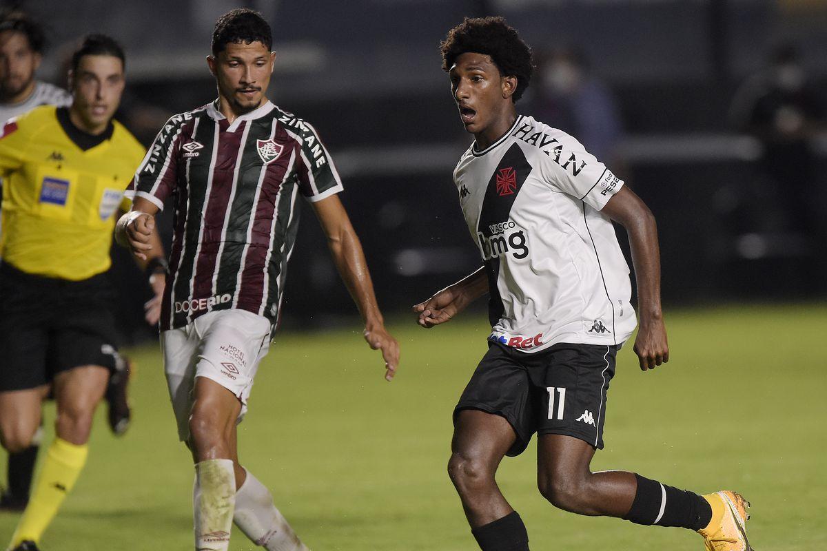 2020 Brasileirao Series A: Vasco da Gama v Fluminense Play Behind Closed Doors Amidst the Coronavirus (COVID - 19) Pandemic