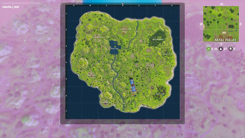 fortnite - fortnite map changes today