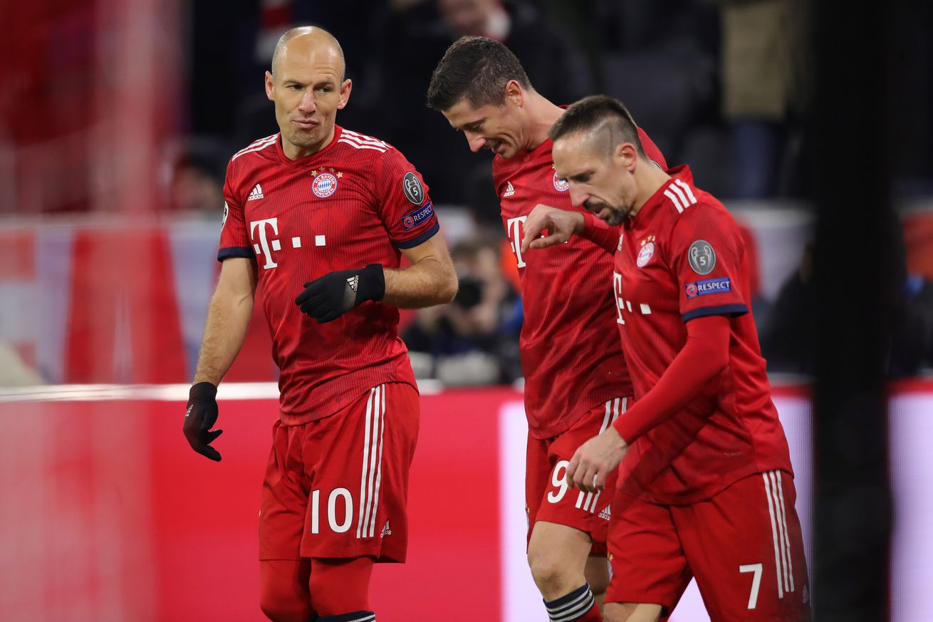 Bayern Munich squad held a players-only meeting last Wednesday