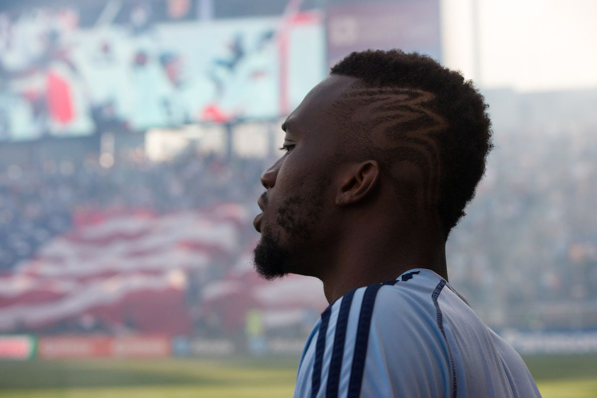Sapong was often watching from the sideline this season