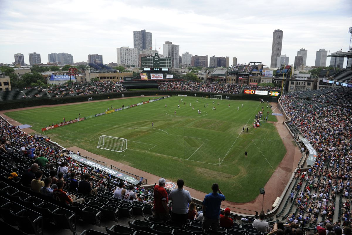 Sunday's International Friendly at Wrigley Field in Chicago was only a part of AS Roma's plan to continue marketing the club in the United States and across the globe.