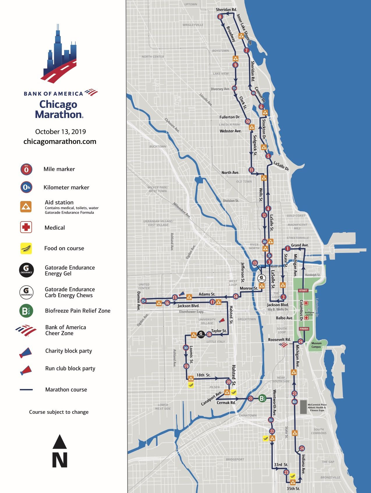 what to know about the chicago marathon 2019 - curbed chicago