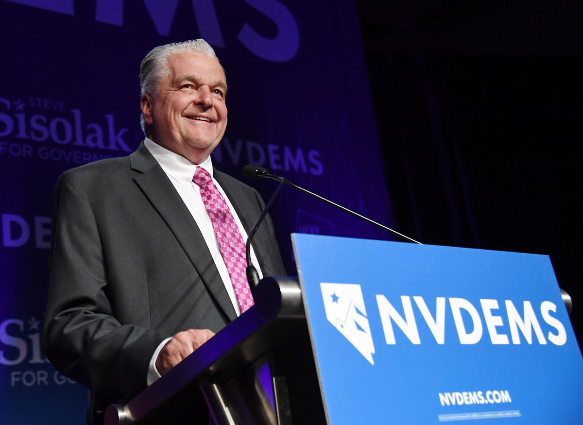 Nevada Governor Steve Sisolak