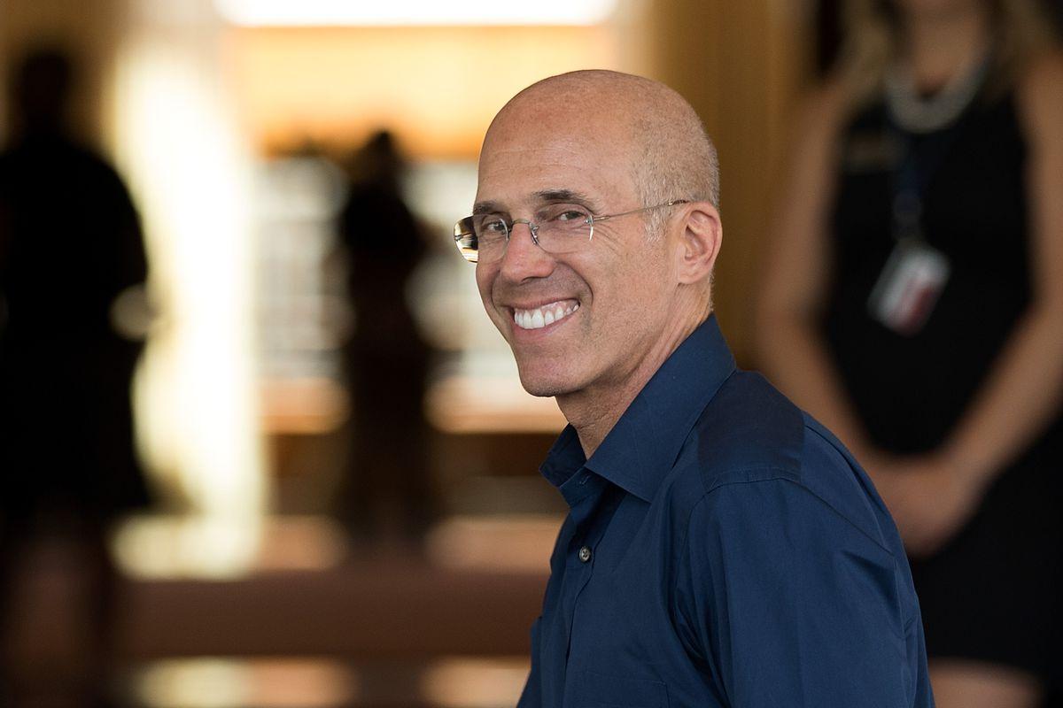Former DreamWorks Animation CEO Jeffrey Katzenberg