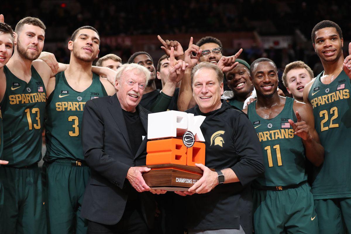 NCAA Basketball: North Carolina at Michigan State