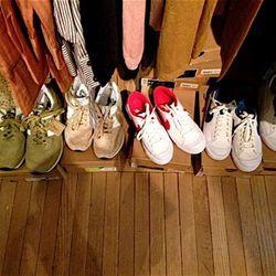 A.P.C. + Nike All Courts, $42 (originally $140)