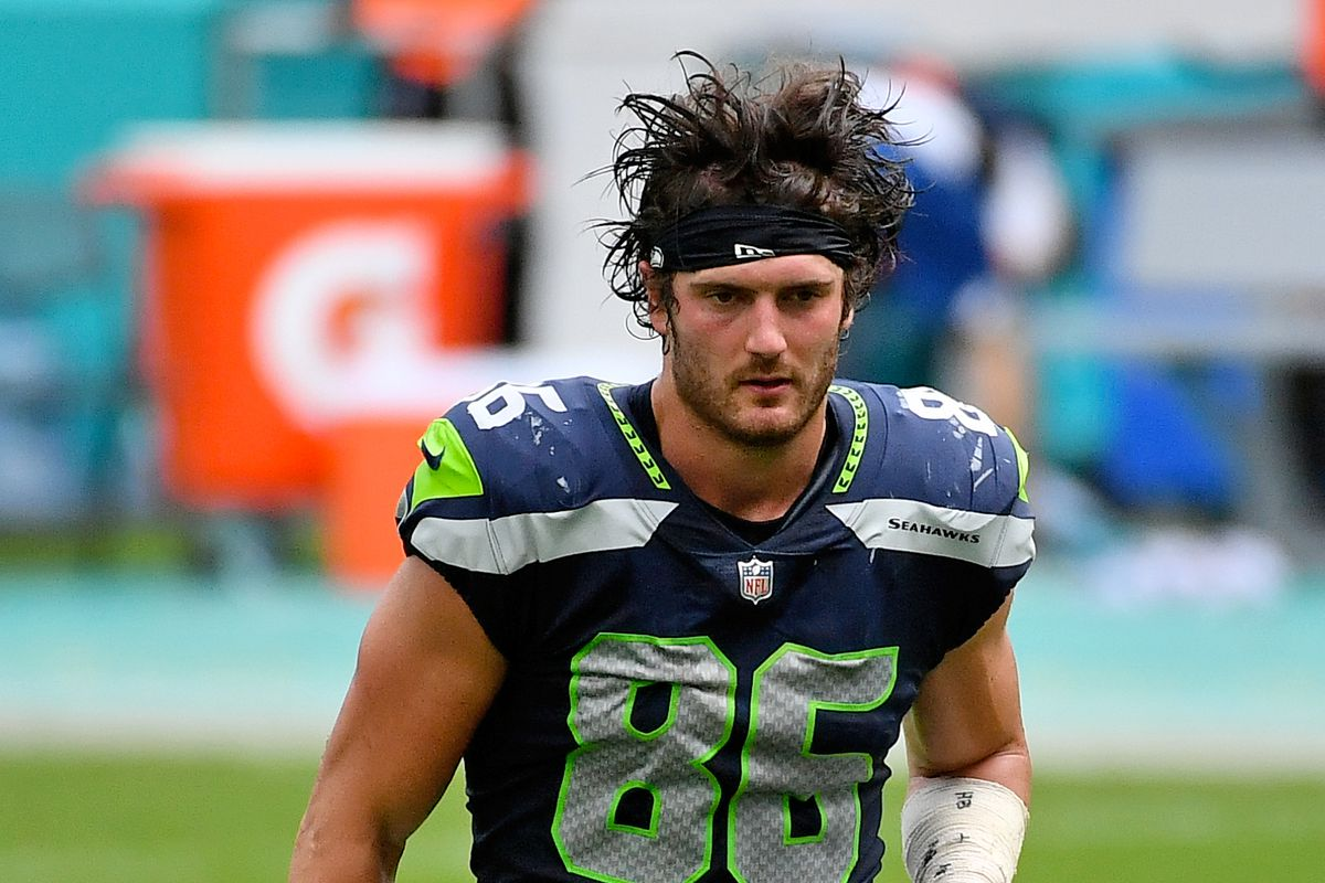 Seattle Seahawks TE Jacob Hollister could be traded before ...