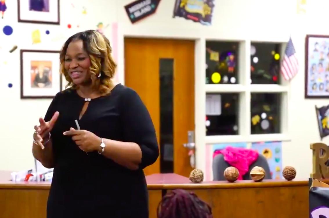 Janice Tankson, the former principal of Robert R. Church Elementary in Memphis.