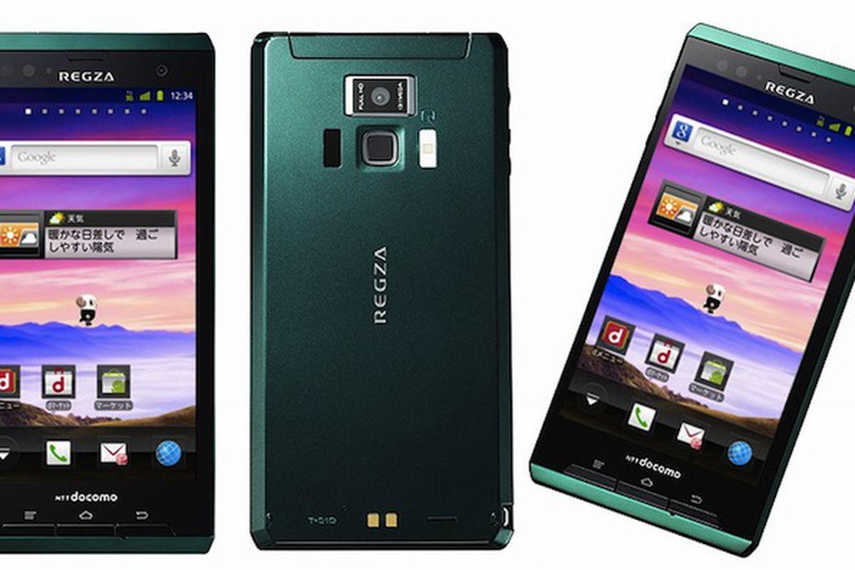 Docomo temporarily pulls Regza T-01D phone in Japan - The Verge