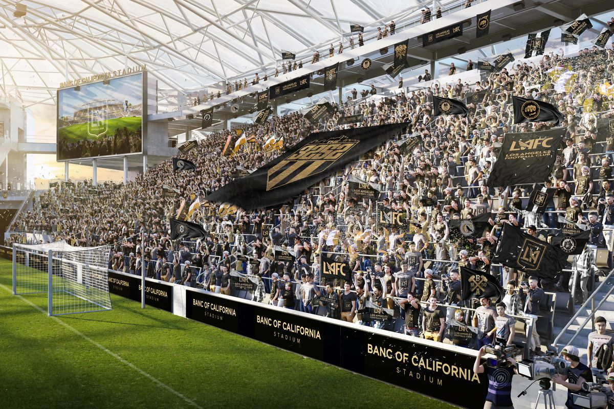 LAFC drop new renderings of the supporters section at Banc ...