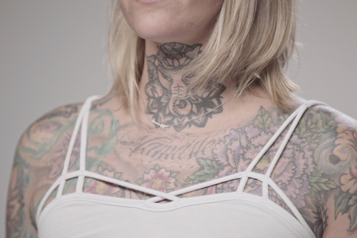 88eb1d795cf9f Tattooed woman Image from Vox's new Netflix show, Explained.
