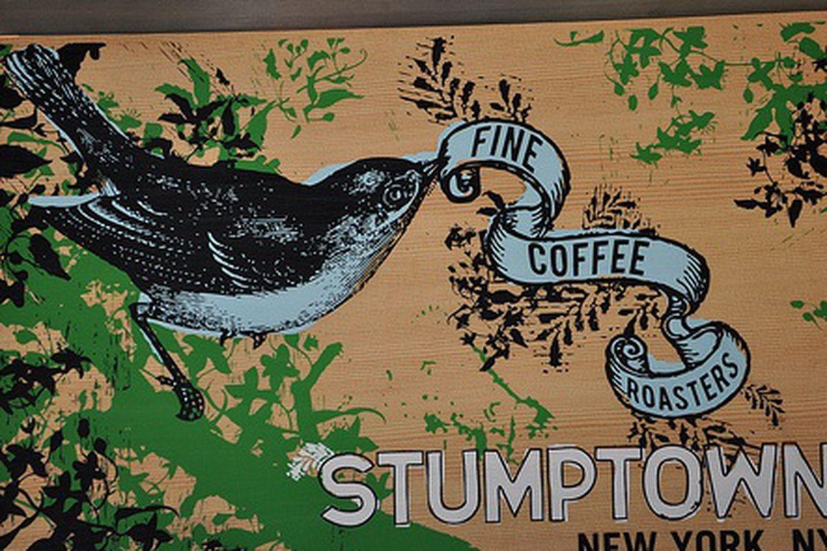 Stumptown Sign at New Amsterdam Market Fair