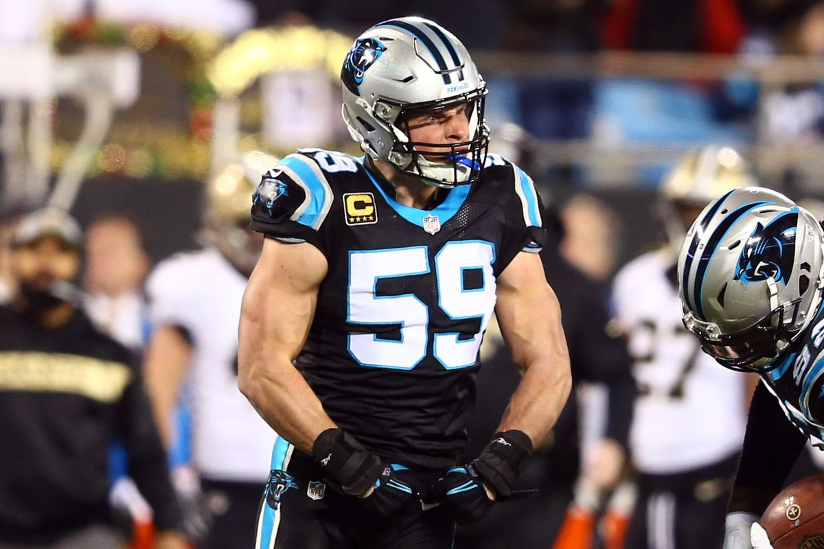 timeless design ca0fa 6bc84 Carolina Panthers News: Two Panthers receive All Pro honors ...