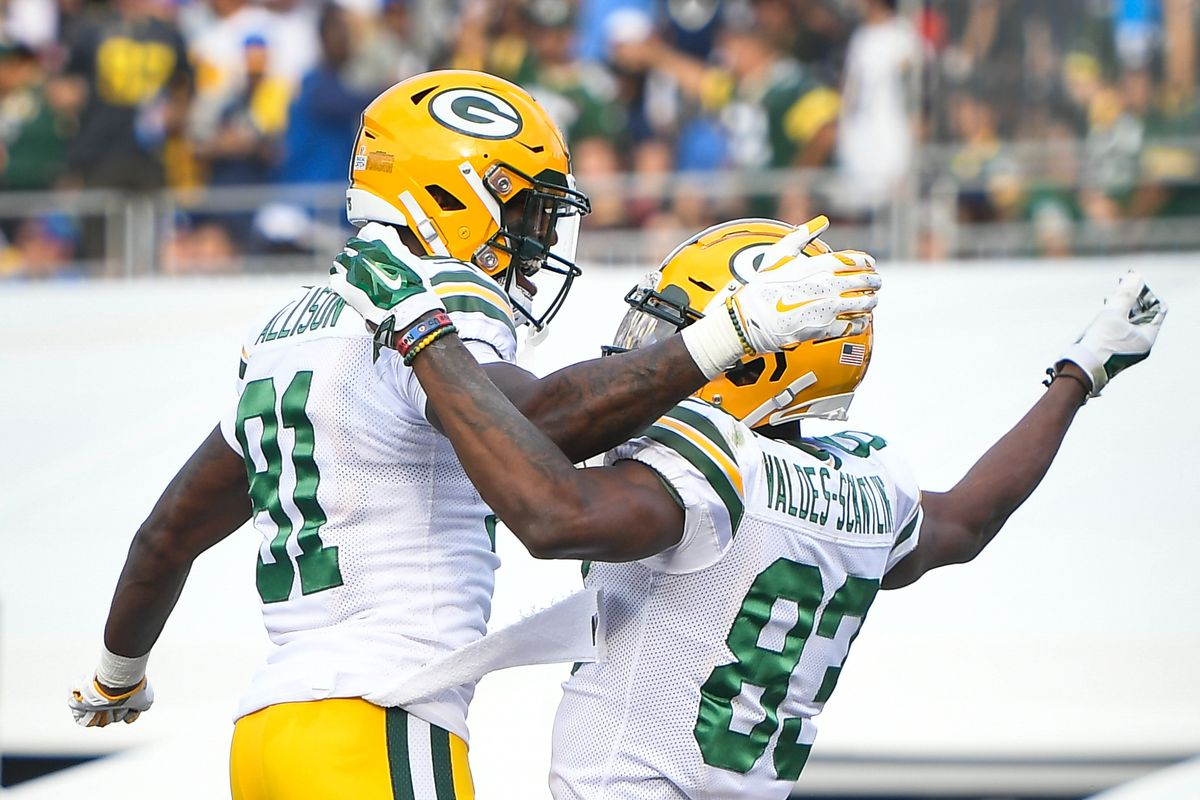 Packers wide receiver Geronimo Allison upgraded from doubtful to questionable versus Raiders