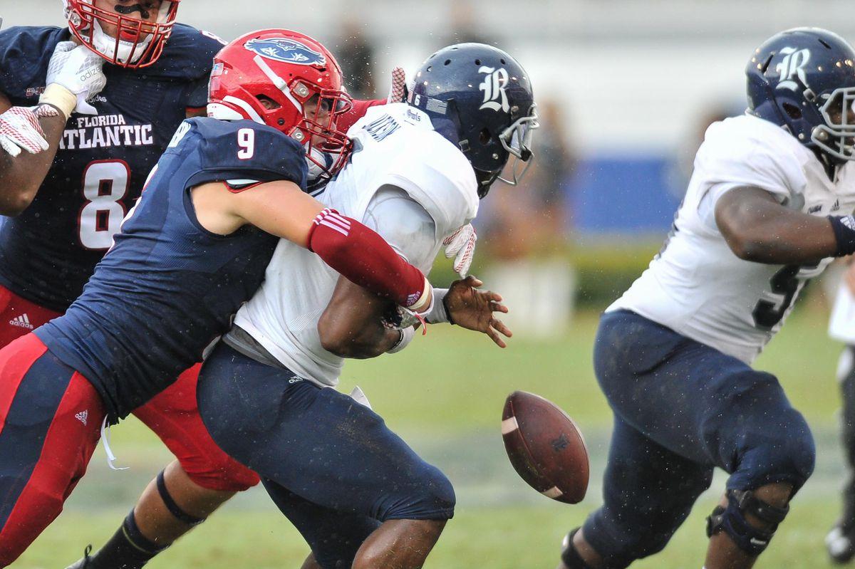 NCAA Football: Rice at Florida Atlantic