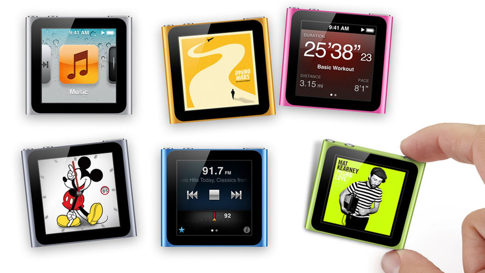 iPod nano 1.2 update adds clock faces and new features to ...