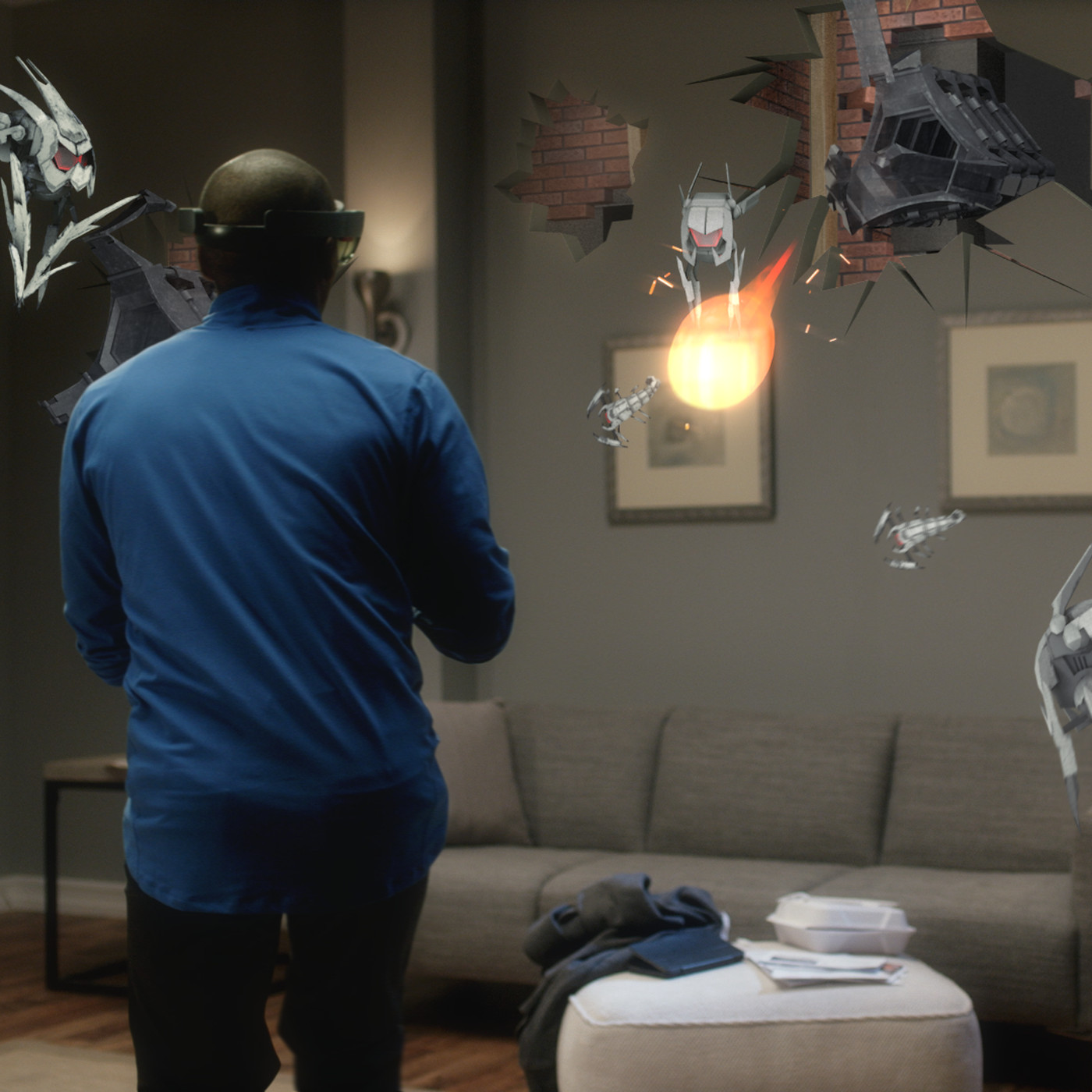 These are the first apps and games for Microsoft's HoloLens