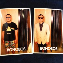 Before a Bonobos transformation and after. Need alterations? Bonobos will refer you to local favorite <b>La Brea Cleaners</b> (310 S La Brea Ave) to tailor your pieces once they arrive.