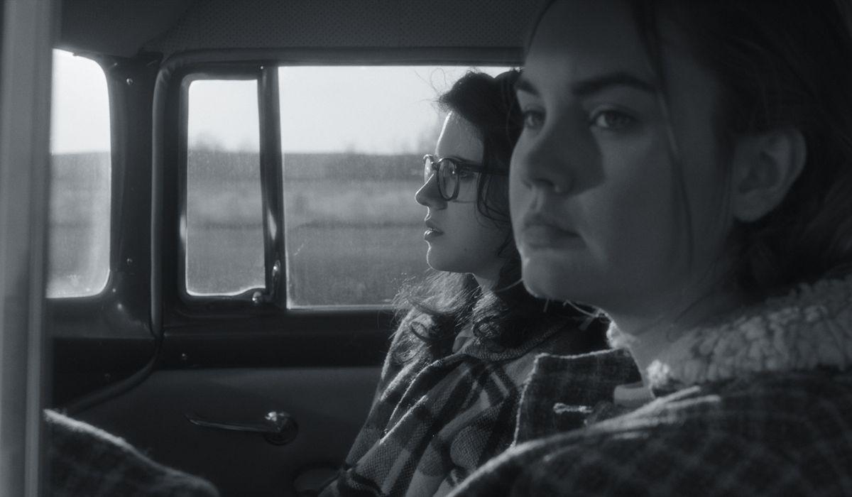 Kara Hayward and Liana Liberato appear in To The Stars