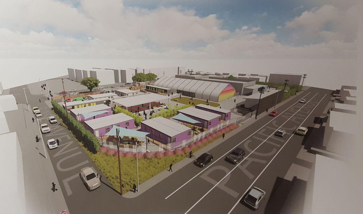 Bridge housing plan for Venice