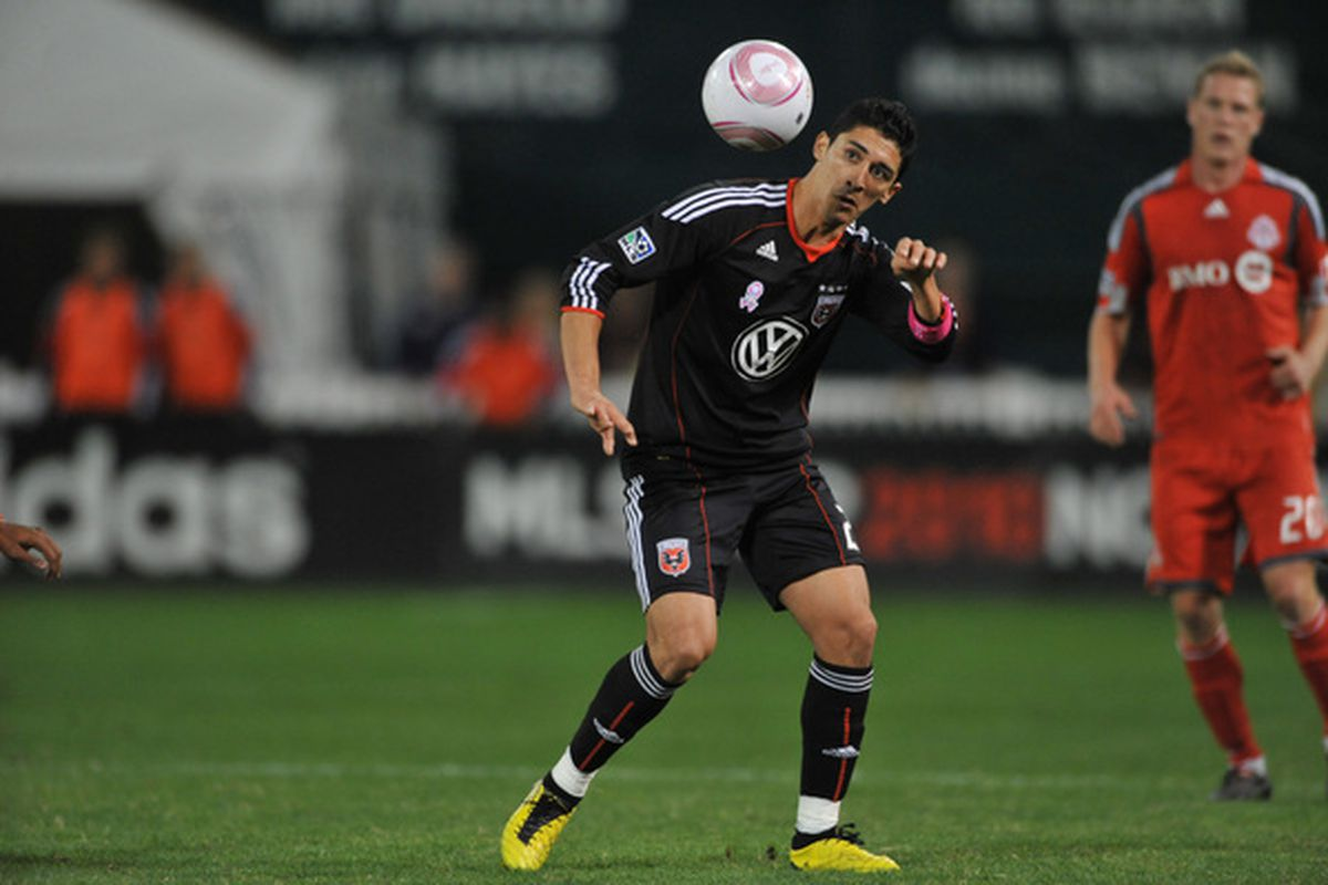 D.C. United has left starting forward Pablo Hernandez unprotected.