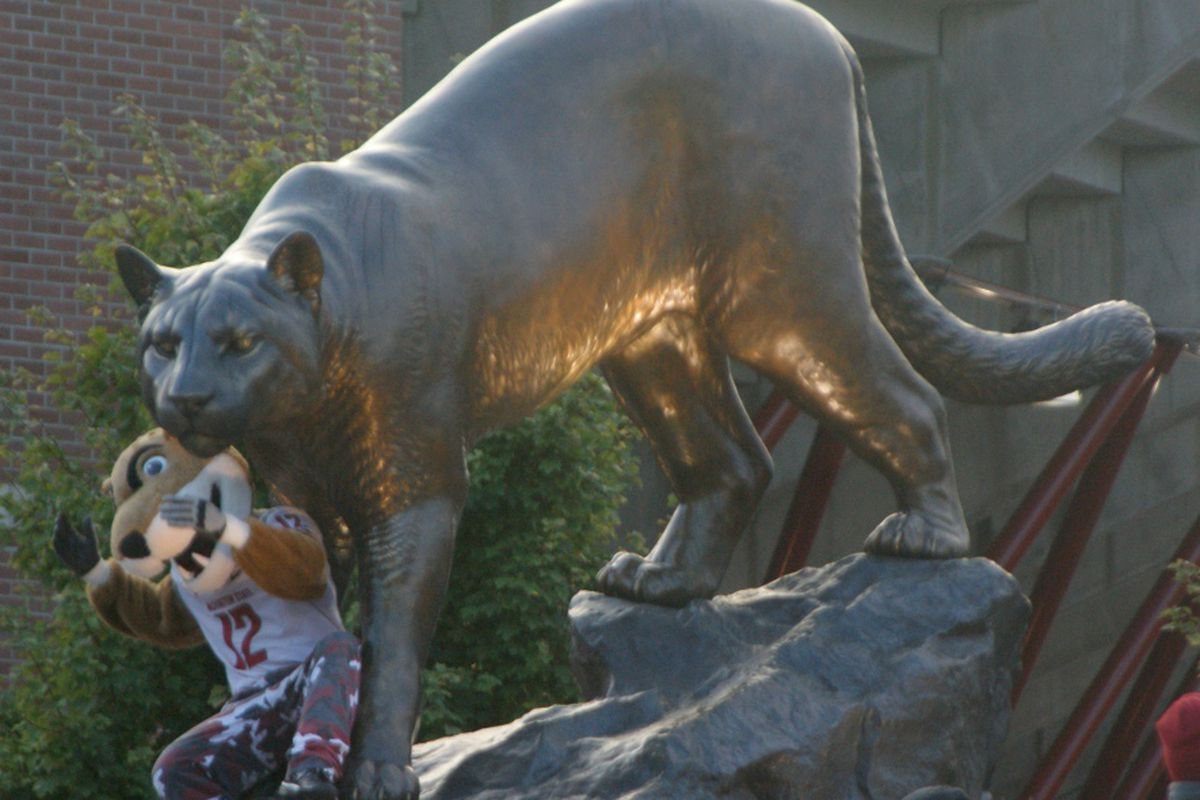The Beavers venture into Cougar Country today. Something memorable is bound to happen, but what?