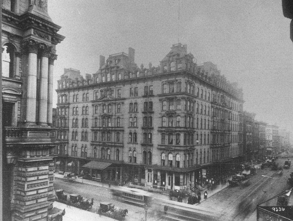 Sherman Hotel in undated photo.