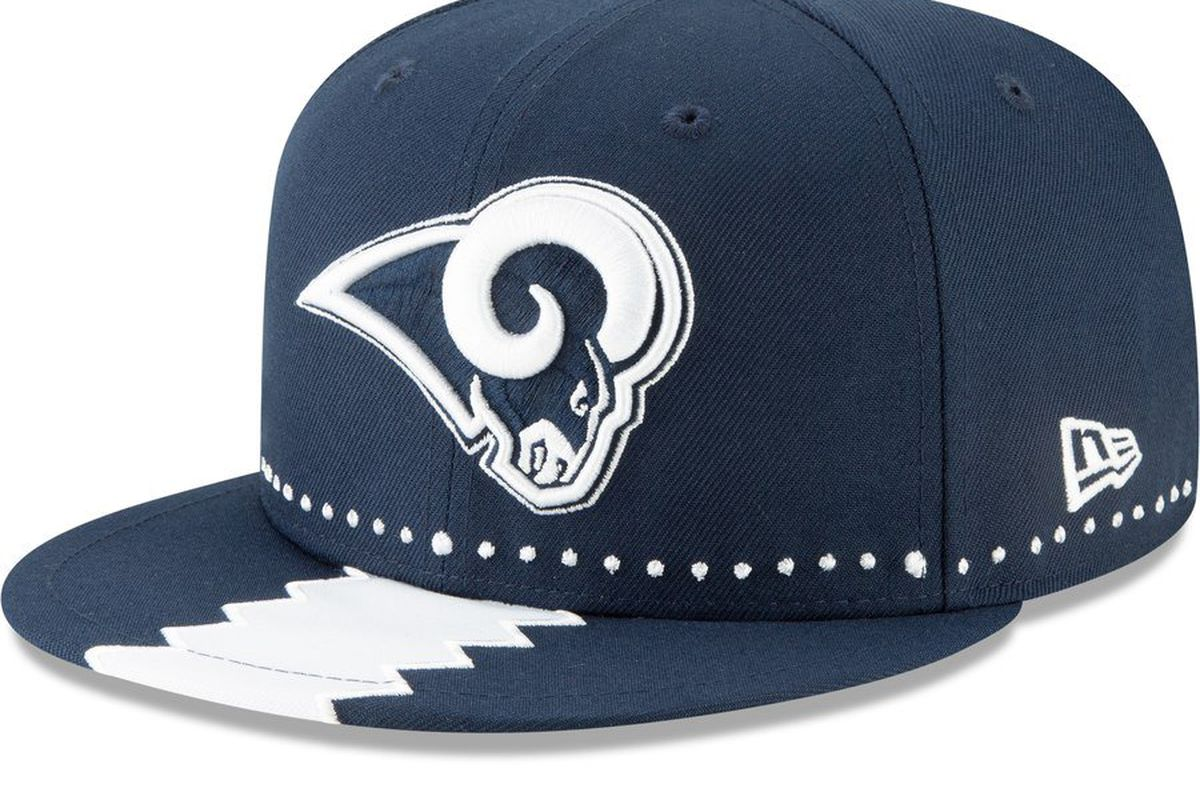 0d5775c6d5e07f The LA Rams' 2019 NFL Draft hats are here and good God they are ...