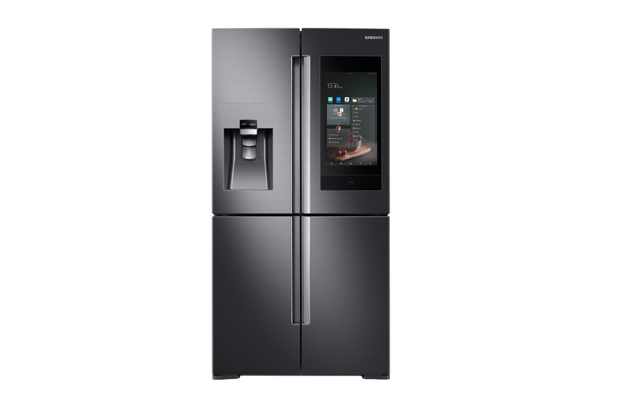 samsung s new smart refrigerator has bixby akg speakers and can