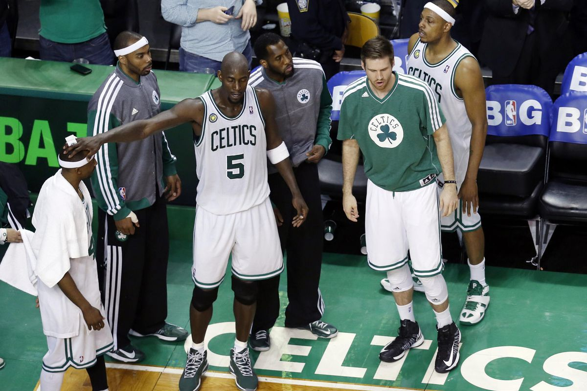 Kevin Garnett and Paul Pierce left everything they had on the floor on Friday night. Now, uncertainty abounds in Boston.