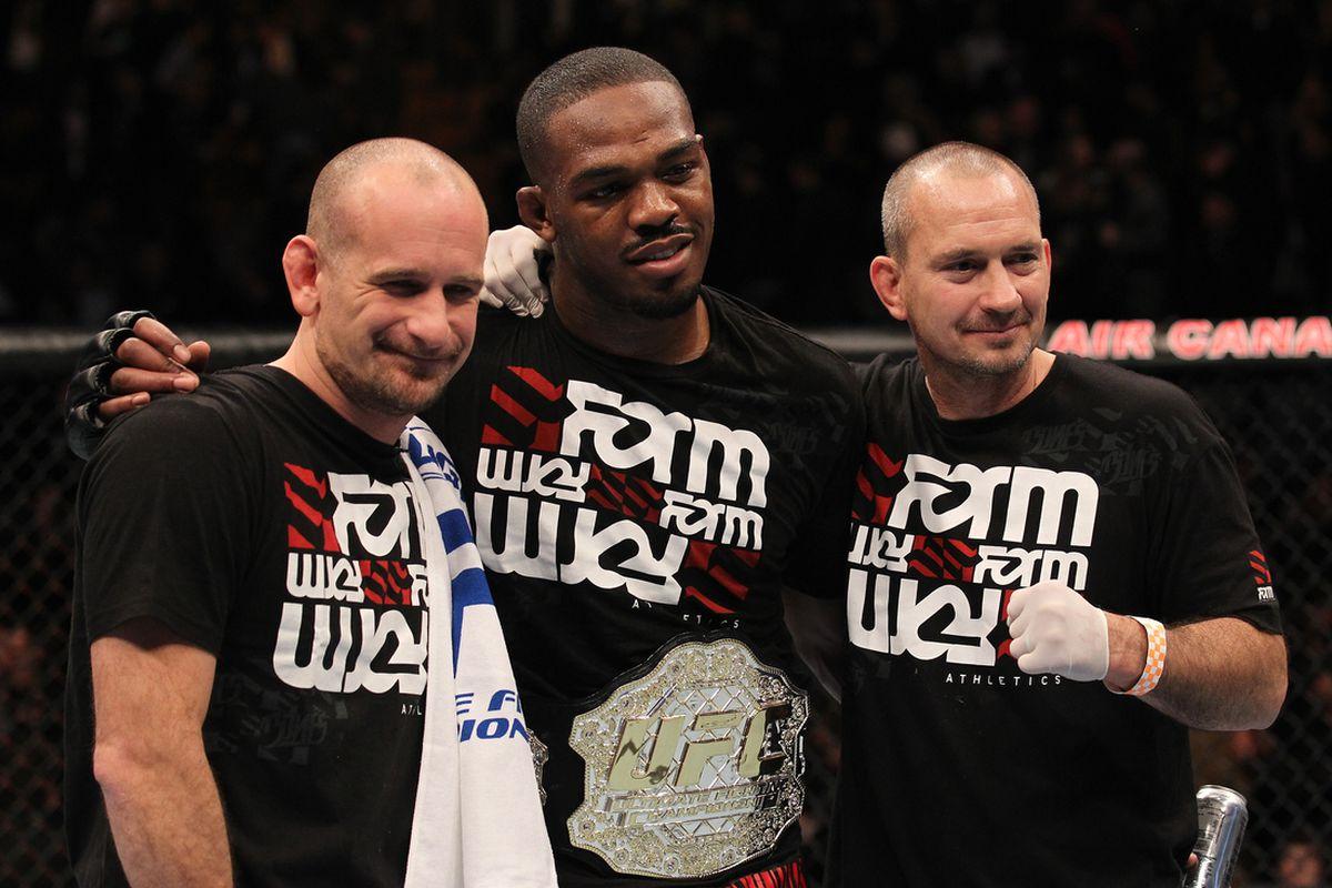 Greg Jackson Jon Jones UFC 140 by Josh Hedges Zuffa LLC via Getty Images