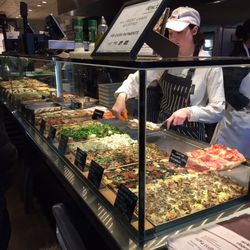 Serving the pan pizza at Bonci. | Sun-Times Staff
