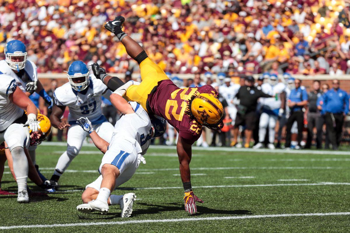 NCAA Football: Indiana State at Minnesota
