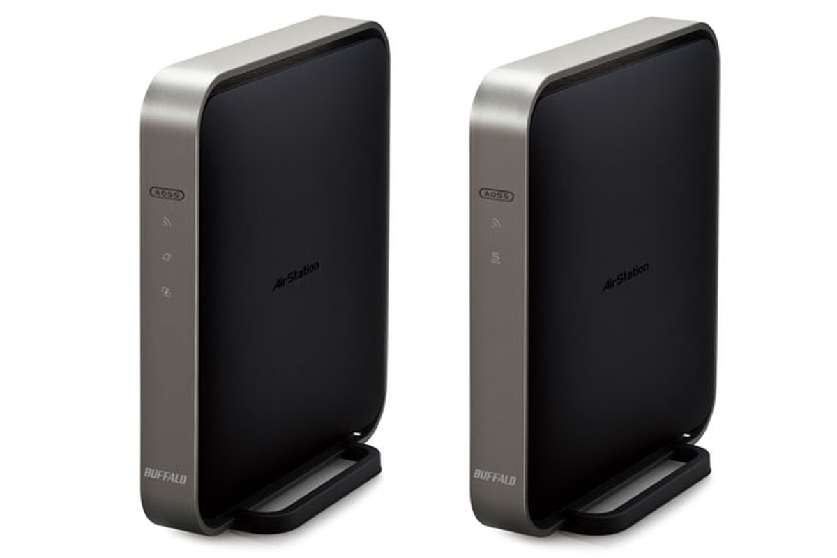 Buffalo's $179 99 WZR-D1800H is the first 802 11ac router available