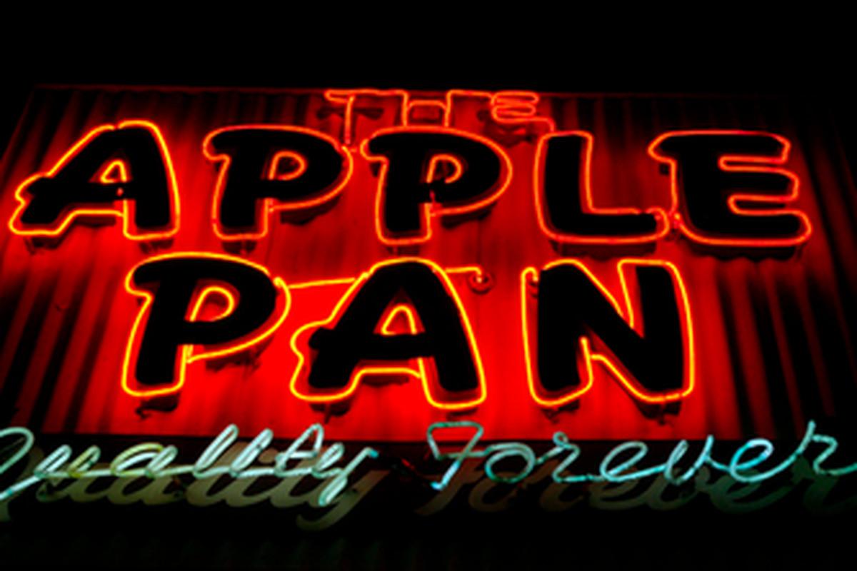 Outside The Apple Pan, West LA.