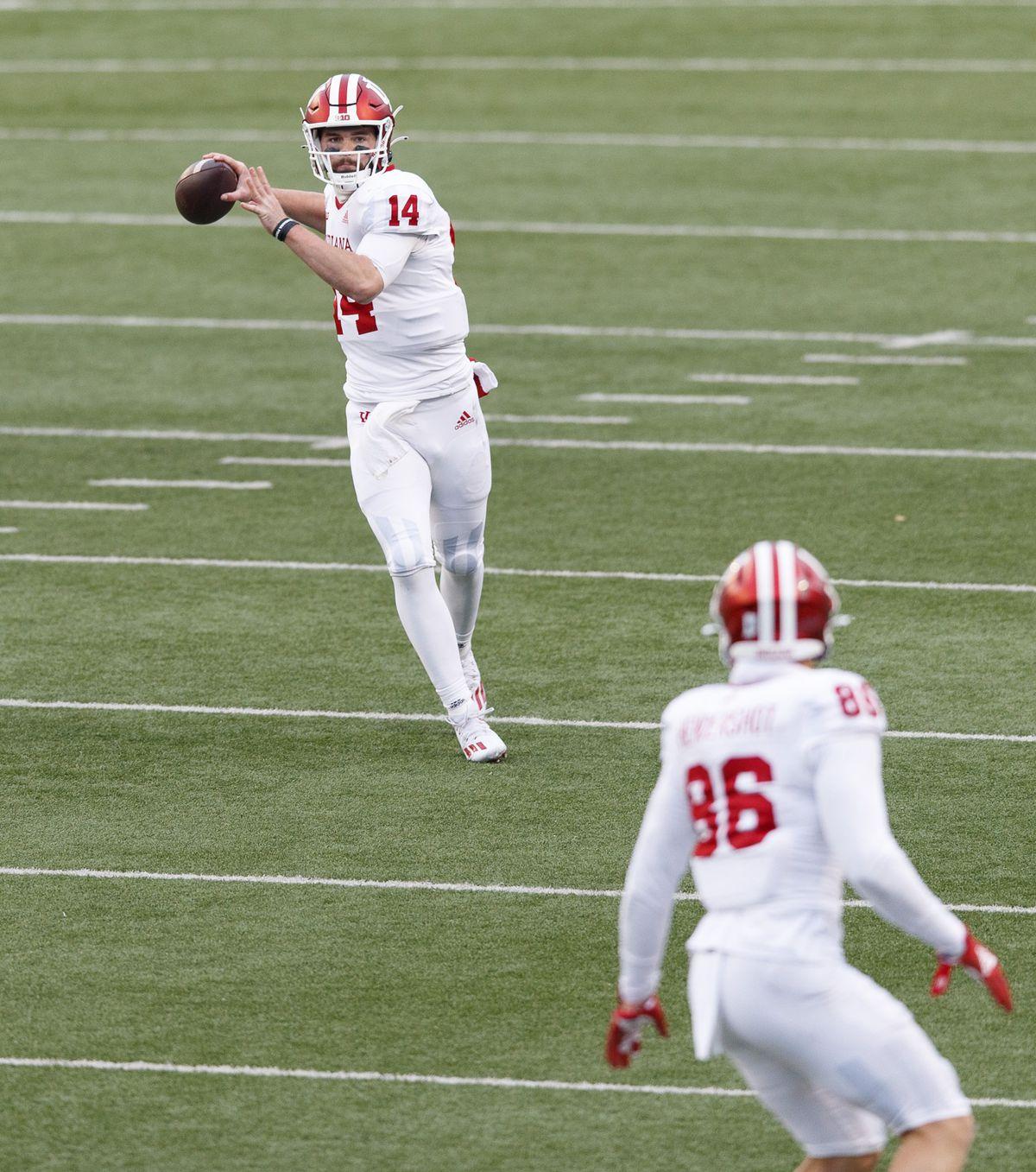 NCAA Football: Indiana at Wisconsin