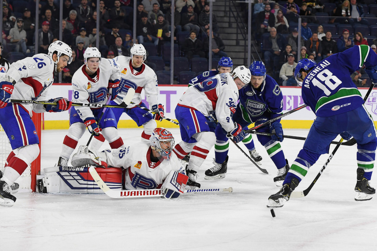 Rocket vs. Comets recap and highlights: Laval puts in worst effort of the year in Friday's loss