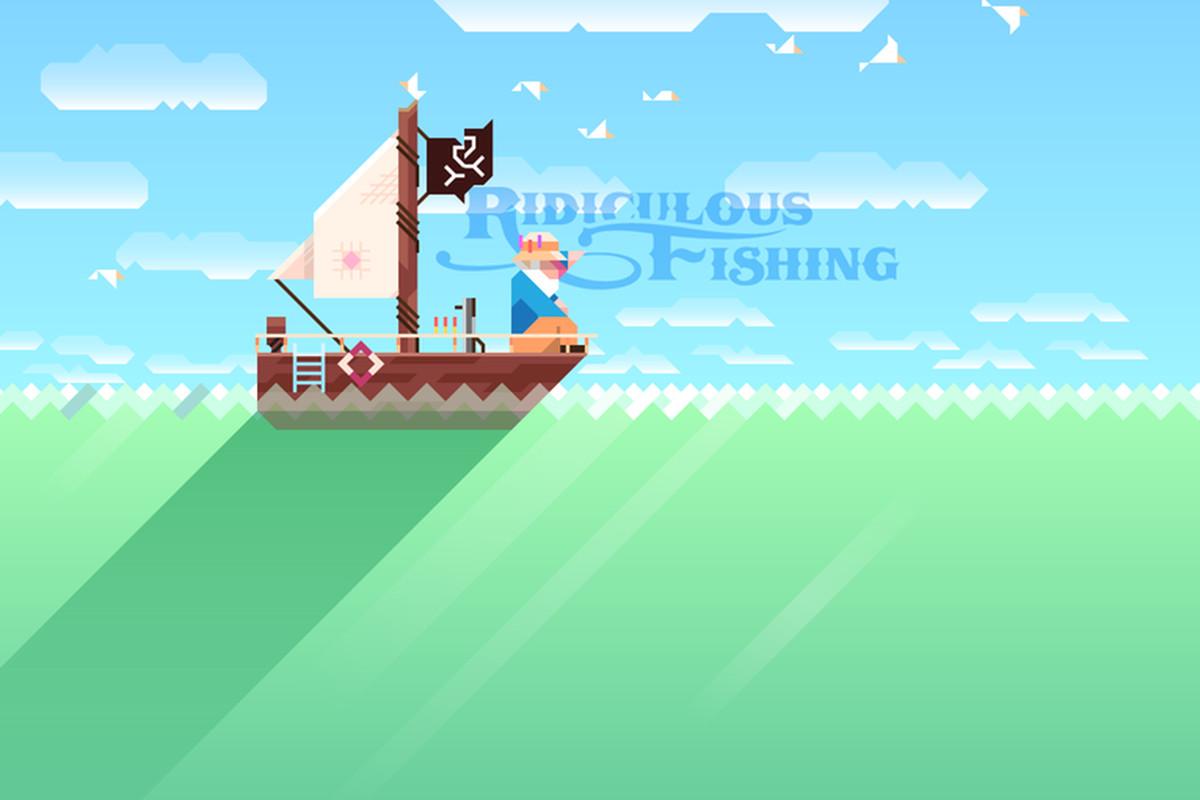 Ridiculous Fishing Titlecard