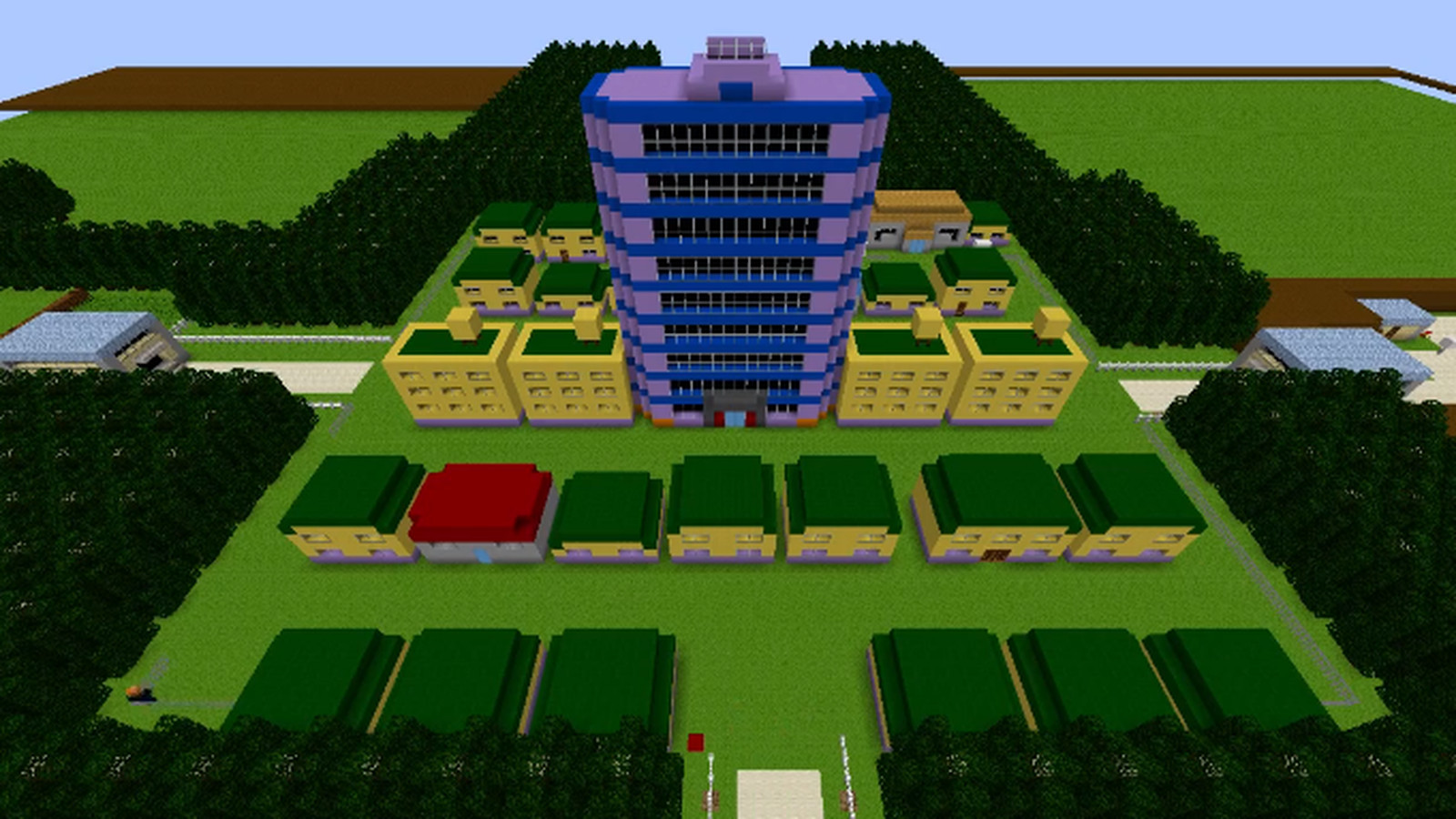 Minecraft player recreates original pokemon region polygon - Pokemon logo minecraft ...