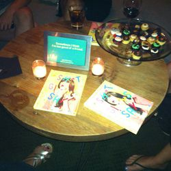 Books and cupcakes